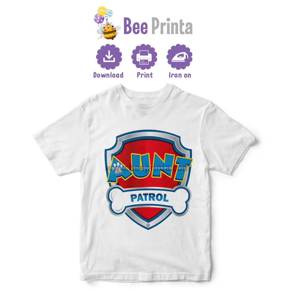Aunt-paw-patrol-shirt