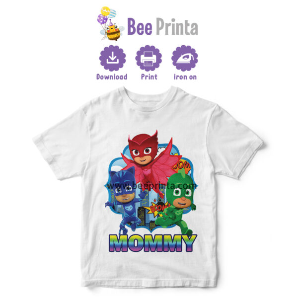 PJ-Mask-Mommy-shirt