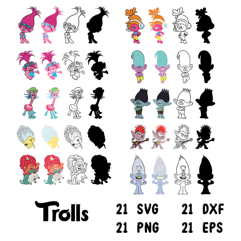 Trolls clipart