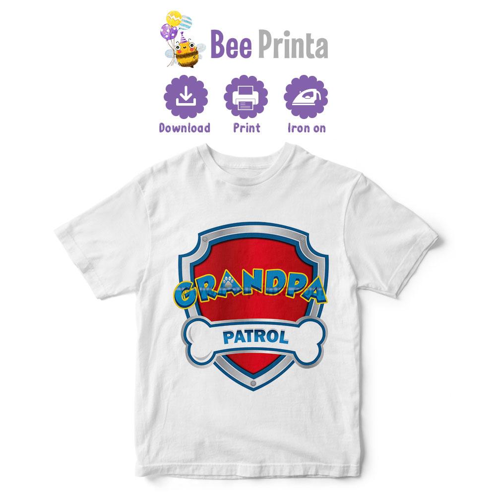 paw-patrol-Grandpa-shirt