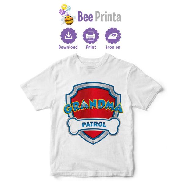 paw-patrol-Grandma-shirt