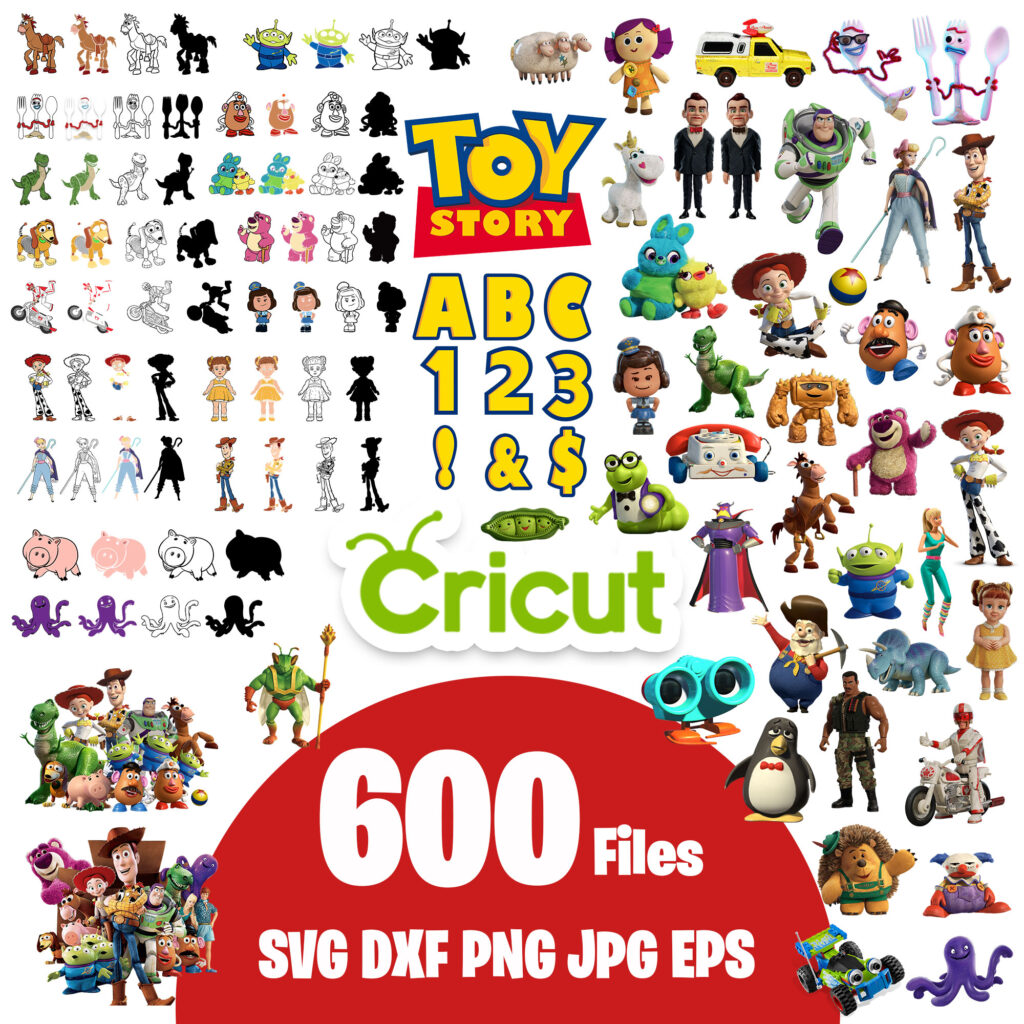 Toy story clipart